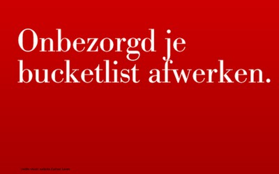 #ZLbucketlist actie: communicatie met zorg